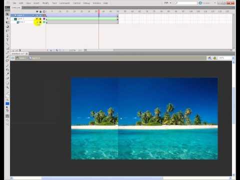flash image roll animation