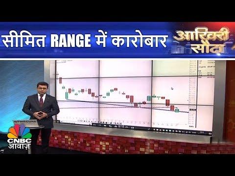 Aakhri Sauda | सीमित Range में कारोबार | 20th March | CNBC Awaaz