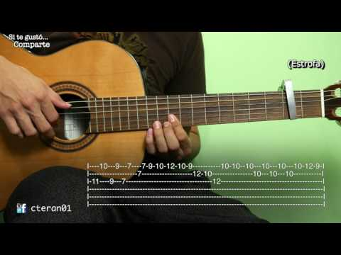 Despacito - Luis Fonsi ft. Daddy Yankee Tutorial/como tocar instrumental Guitarra