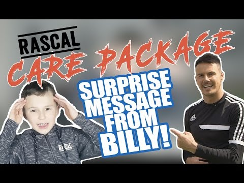 EPIC RASCAL CLOTHING CARE PACKAGE | SURPRISE MESSAGE FROM BILLY | KEYL SKILLS