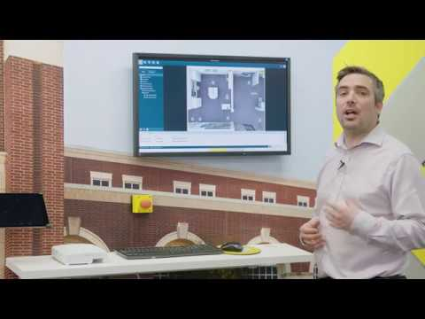 Axis Camera Station Expansion With Access Control Interaction Youtube