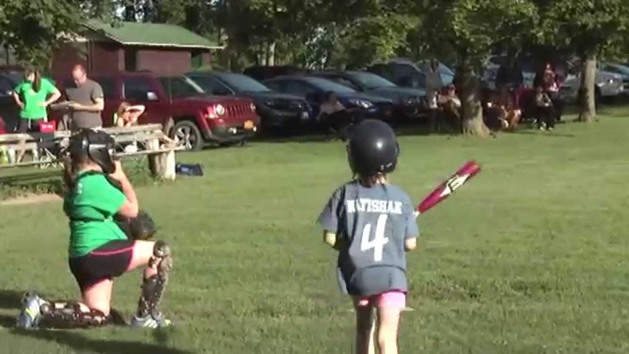 Champlain - Chazy Grasshopper Softball  6-17-15