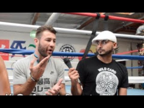 "MUST WATCH! ""(CONORS POWER) LIGHT WEIGHTS HIT HARDER!""CHRIS COMPARES POWER TO CANELO/MOSELY!"