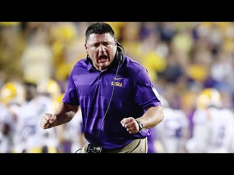 Download Ed Orgeron Post Game Press Conference Background