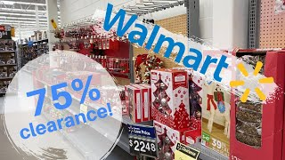 Walmart 75% Christmas Clearance!