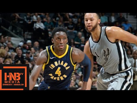 Indiana Pacers vs San Antonio Spurs Full Game Highlights / Jan 21 / 2017-18 NBA Season