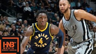 Indiana Pacers vs San Antonio Spurs Full Game Highlights / Jan 21 / 2017-18 NBA Season