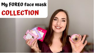 My Face Mask Collection   ft. FOREO