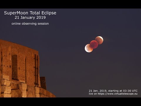 "21 Jan. 2019 SuperMoon total eclipse"" – 21 Jan. 2019"