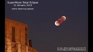 "21 Jan. 2019 SuperMoon total eclipse"" – 21 Jan. 2019"