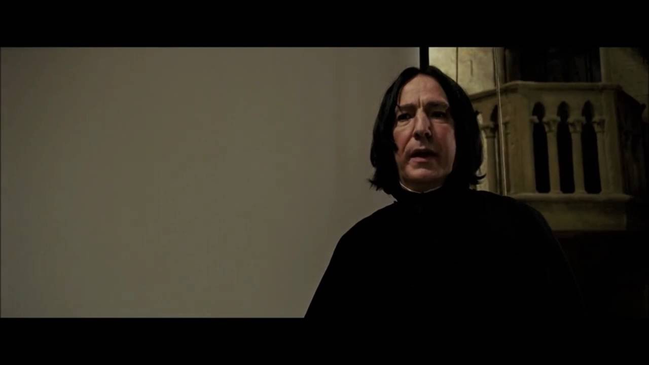 Severus Snape - Turn To Page 394 - YouTube