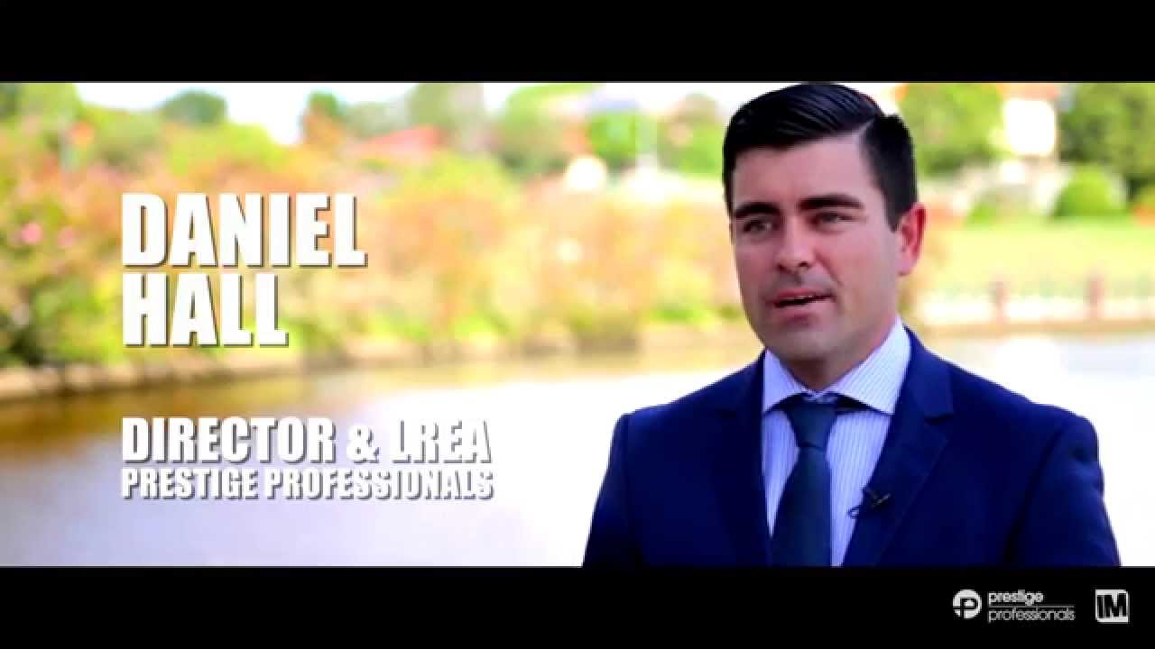 Daniel Hall Real Estate Agent Profile Video Prestige Professionals
