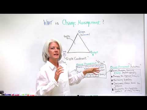 What Is Change Management In Project Management Terms?