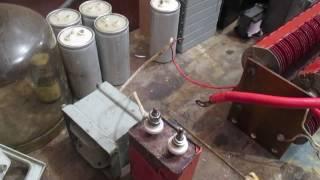 видео Высоковольтные конденсаторы