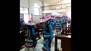 """Danza Reina de Mexico paso del """"sapo"""""""