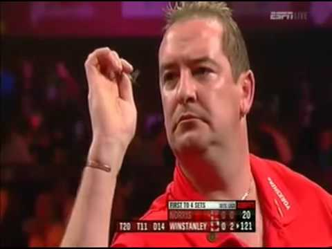 Darts World Championship 2012 Round 2 Winstanley vs Norris