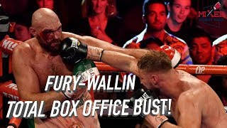 Fury vs Wallin Box Office BUST! Only Sold 3,577 TICKETS! WOW!