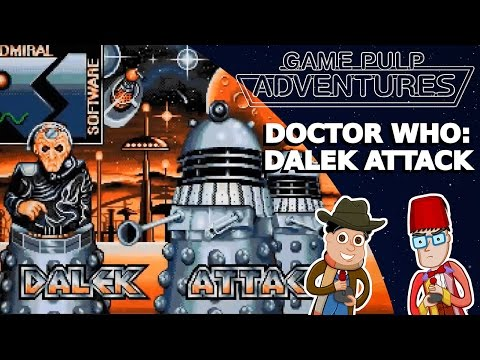 Game Pulp Adventures - Doctor Who: Dalek Attack