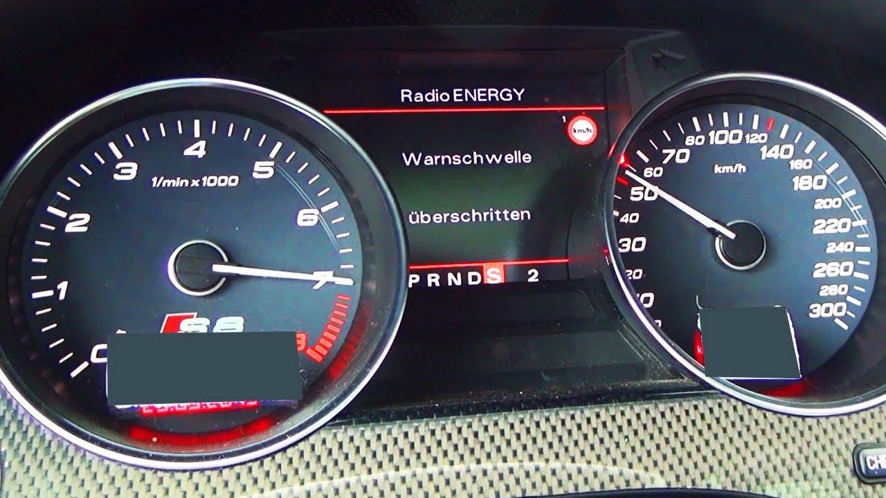 Audi S8 V10 Acceleration 0 200 Autobahn Onboard Sound 4e Quattro