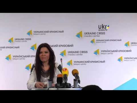 Ruslana - Press conference at Ukraine Crisis Media Center | 11.03.14
