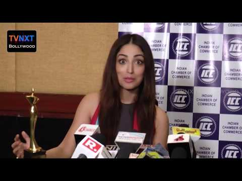 Yami Gautam Exclusive Chit chat || ICC Women's Achievers Award 2017 || TVNXT Bollywood