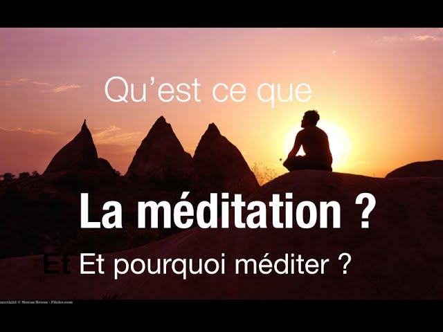 Holosynergie. Qu'est ce que la méditation et pourquoi méditer ?