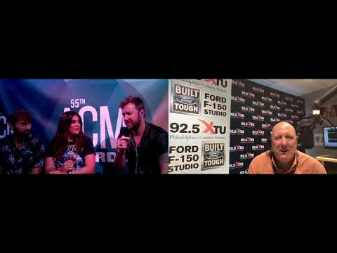 ACM Award Coverage with Razz on the Radio - Lady A