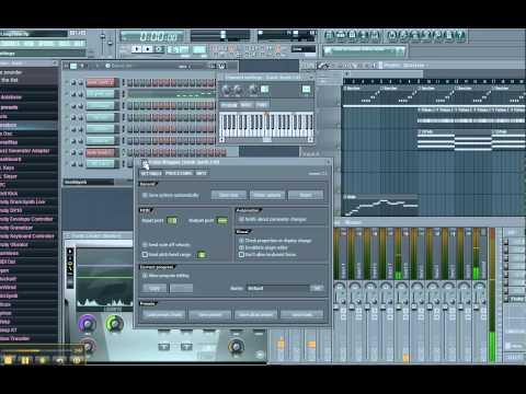 FL Studio - Setting Up MIDI Out