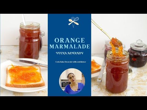 Orange Marmalade Without Pectin