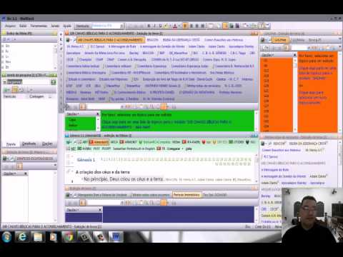 Biblia The Word Videio 2 - Configurando a Bíblia.