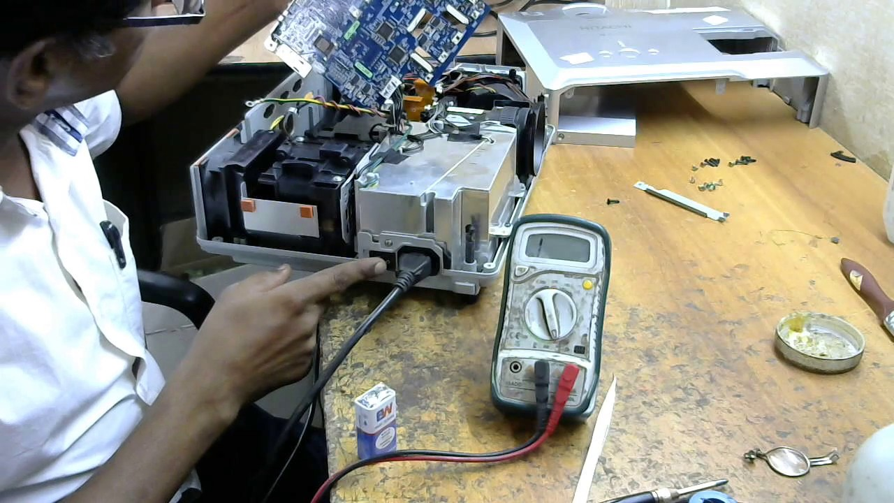 hitachi cp x201 projector dead how to repairs dead projector