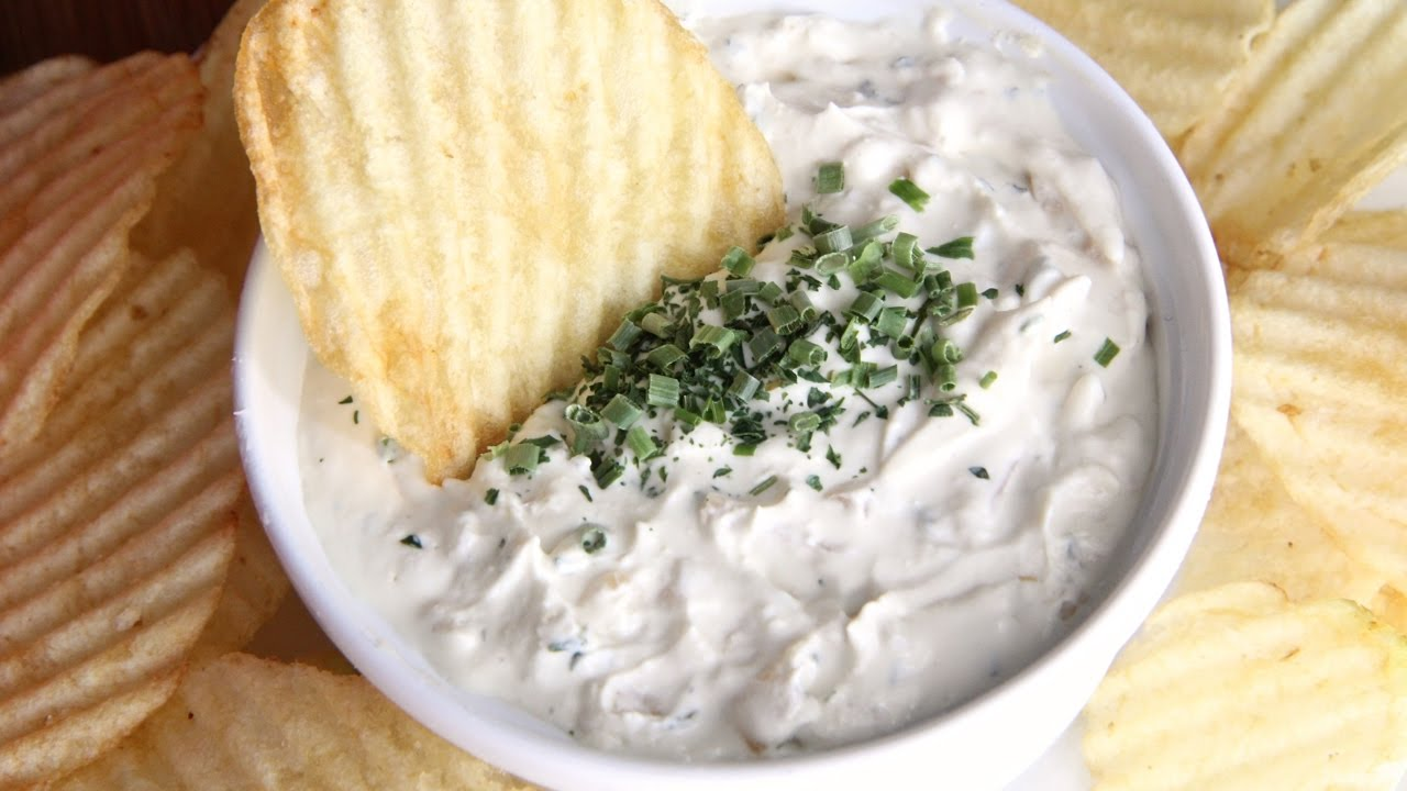 Creamiest Homemade French Onion Dip Youtube