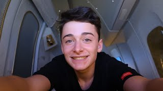 Download I Flew Emirates First Class and It Was Insane! | Noah Schnapp Mp3 and Videos