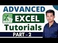 Advanced MS Excel Tutorial In Telugu Part -2   Data Validation & 2 options  LEARN COMPUTER IN TELUGU