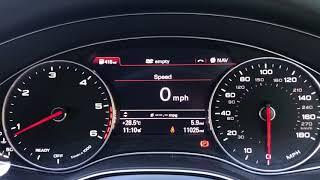 Fuel Economy Test...Audi A6 2.0TDI Manual