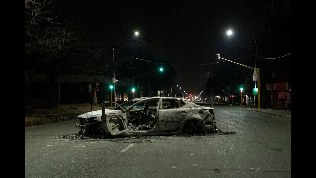 Deadly Riots Cast Pall Over South Africa's Economic Recovery