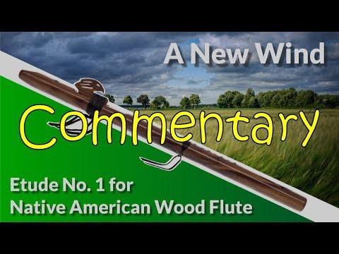 Native American Wood Flute Etude No. 1 - A New Wind