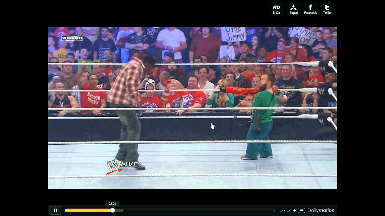 Hornswoggle Attacks R-Truth