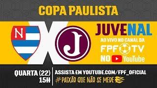 Nacional 0 x 1 Juventus - Copa Paulista 2018
