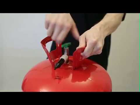 helium tank tutorial how to blow up balloons quick and easy youtube