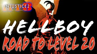 HELLBOY · Road to Level 20 · Farming · IN STREAM CHAT [Injustice 2] - Episode 13 thumbnail