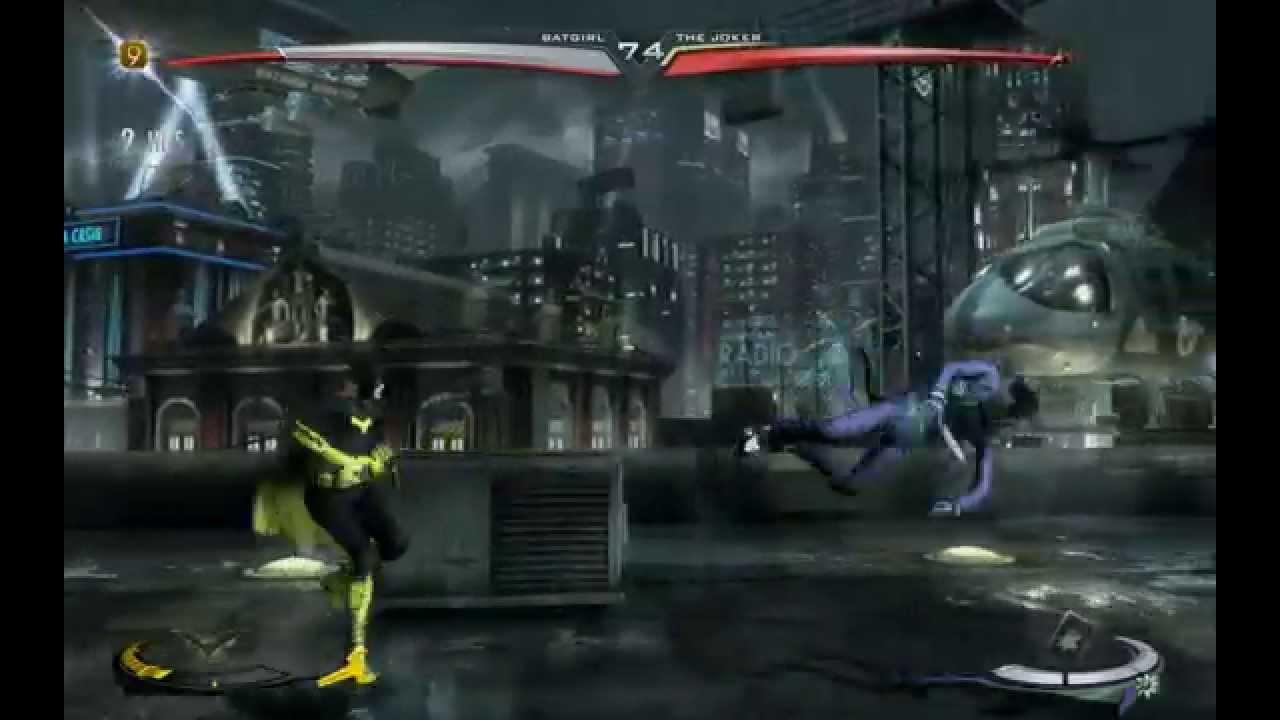 Injustice Gods Among Us - Batgirl (NEW 52) vs The Joker ... New 52 Joker Injustice