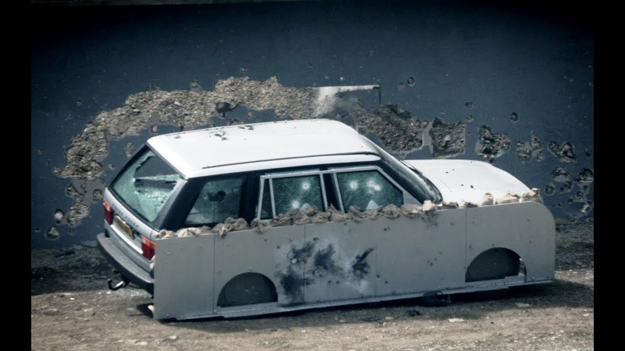 Diy Bond Car Pt 1 Bulletproof Range Rover Top Gear At