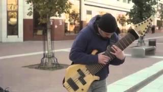 12 струнная бас гитара.