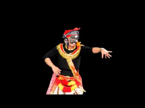 Tari Tetopengan (Mask Dance) di Mayfield Junior School, Pasadena