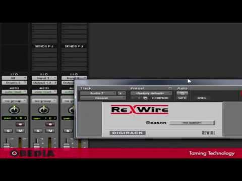 How to Rewire Reason and Pro Tools