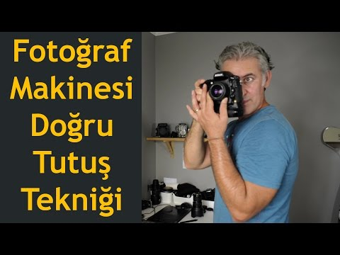 Camera Holdıng Technıque For Sharper Photos (English Subtitles)