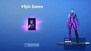 🔴 LIVE FORTNITE WONDER SKIN (ICONIC, GALAXY, HONOR)