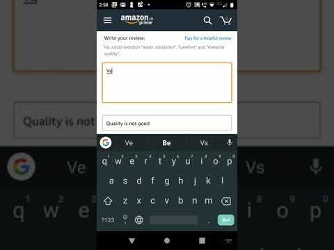 How To Edit Review in Amazon App or in Mobile