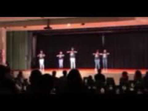 Albright middle school step team part 3